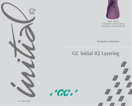 GC Initial IQ Layering