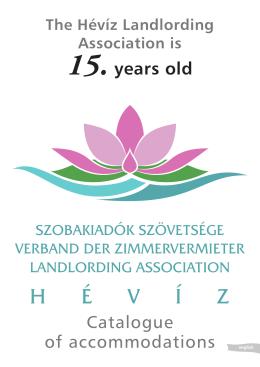 Szálláskatalógus 2010 A4.indd