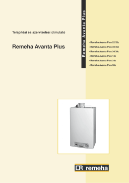 Remeha avanta gepk NY:Layout 1