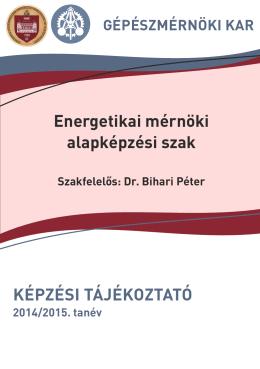 képzési tájékoztató - GPK - Budapesti Műszaki és