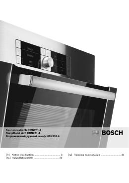 Four encastrable HBN231.4 Beépíthető sütő HBN231.4