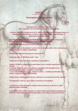 Oszteopátia és Kiropraktika - Eurokt