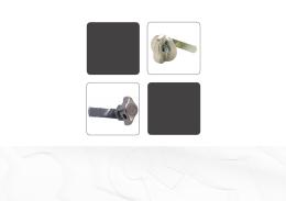 serrures cadenassables latch locks drehriegel für