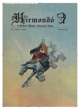 Hírmondó XIV. évf. 1-2. szám 2012. tavasz-nyár
