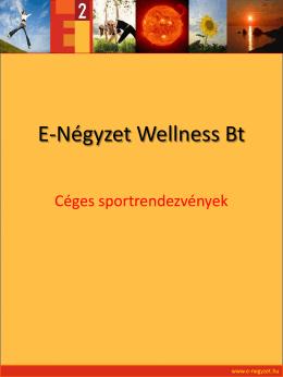 E-Négyzet Wellness Bt - E