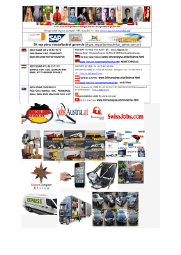 10%-os közvetítői jutalék / Neked !mail /: 24h(at)1cex.de / 40 nyelvet
