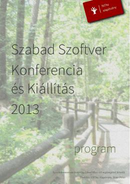 innen - Szabad Szoftver Konferencia és Kiállítás 2013, Budapest