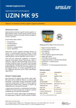 UZIN MK 95 - Fatik Kft.