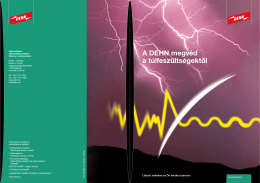Túlfeszültség-védelem - DEHN + SÖHNE • Magyarország