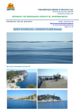 kornáti szigetek - horvatorszag