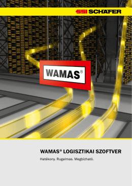WAMAS® LOGISZTIKAI SZOFTVER