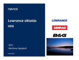 Lowrance HDS radarok