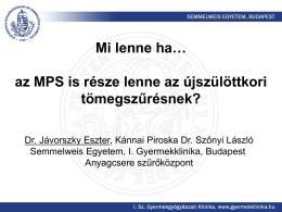 Dr. Jávorszky Eszter, Kánnai Piroska Dr. Szőnyi László: Mi lenne ha…