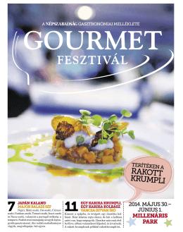 Gourmet 2014 - Burgonyakutatási Központ