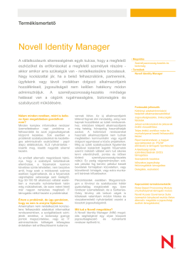 Novell Identity Manager