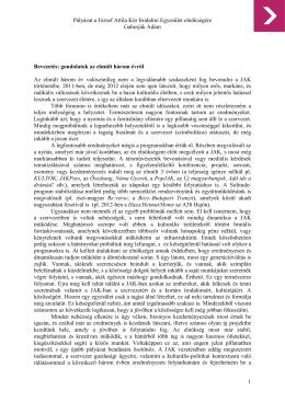 Gaborják Ádám_Elnöki pályázat - A József Attila Kör honlapja