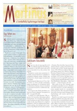 (PDF - 1,54 MB)... - Szombathelyi Egyházmegye