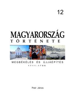magyarország t ö rt é nete megbékélés és újjáépítés