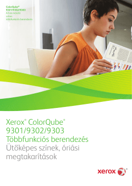 Xerox® ColorQube® 9301/9302/9303 Többfunkciós berendezés