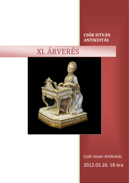 XI. Kamara auction (download pdf)