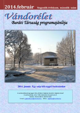 Vándorélet 2014/2