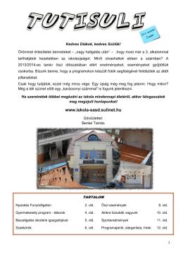 Erdei iskola - Sikonda - Sásdi Általános Iskola