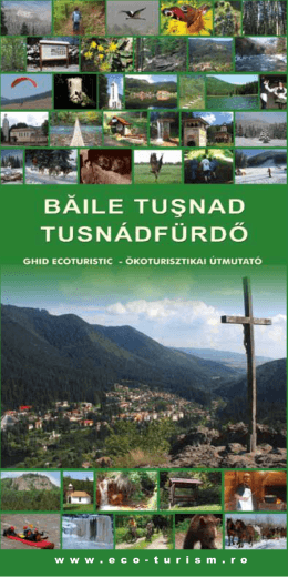 Baile Tusnad - ghid ecoturistic