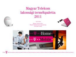 Magyar Telekom lakossági termékpaletta 2011