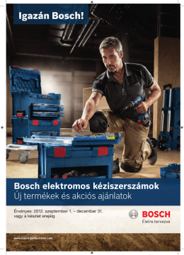 Igazán Bosch!