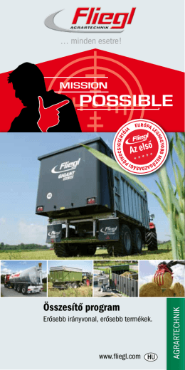N POSSIBLE - Fliegl Abda Kft.