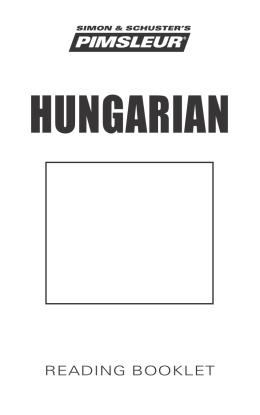 HUNGARIAN - Playaway