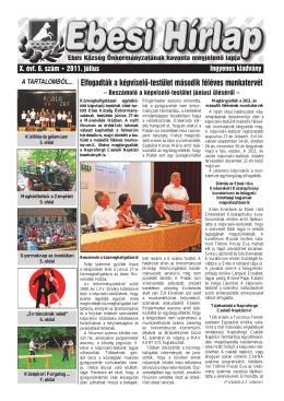 2011-07 - Ebes Kulturális Közhasznú Nonprofit Kft.