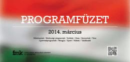 Letöltés pdf formátumban - Ferencvárosi Művelődési Központ
