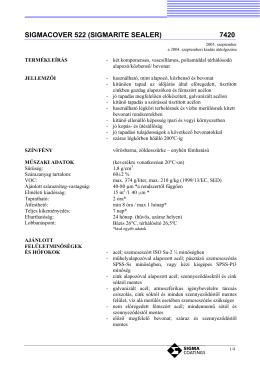 SIGMACOVER 522 (SIGMARITE SEALER) 7420