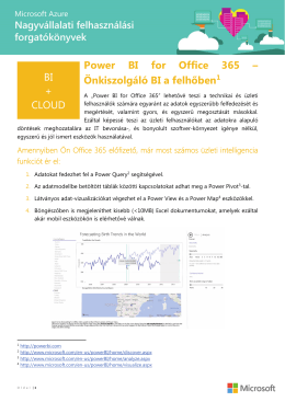 Power BI for O365