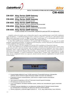CW-4000 - CableWorld