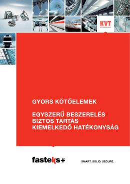 FASTEKS+® Gyors Kötőelemek | KVT