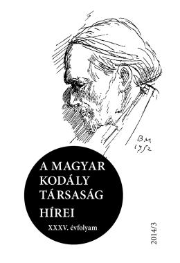 a magyar kodály társaság hírei