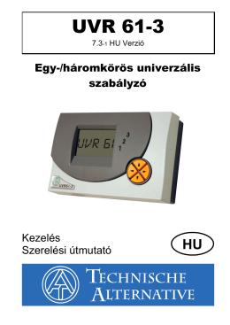 UVR 61-3 - Technische Alternative Elektronische