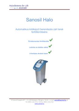 PDF Termékleírás - Sanosil Hungária Kft.
