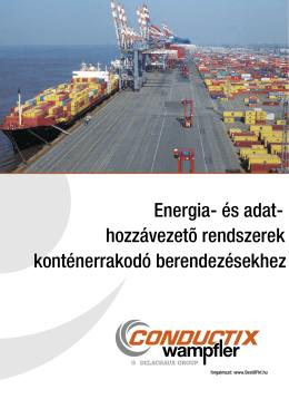 Energia- és adat- hozzávezető rendszerek