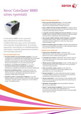 Xerox ColorQube 8880 színes nyomtató