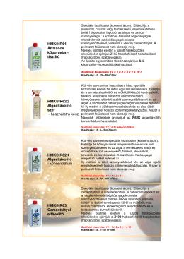 HMK® R61 Általános kőporcelán