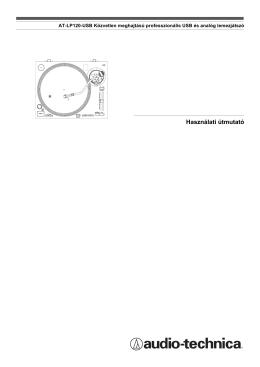 AT-LP120-USBC Használati Útmutató (magyar)