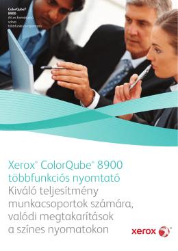 Xerox® ColorQube® 8900 többfunkciós nyomtató Kiváló