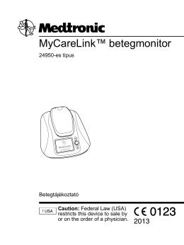 MyCareLink™ betegmonitor