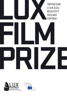 A LUX-díj részletes háttéranyaga