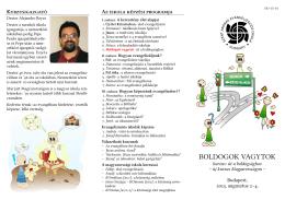 BOLDOGOK VAGYTOK - Szent András Evangelizációs Iskola