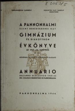 Értesítő 1943-44.pdf - Pannonhalma 70-74