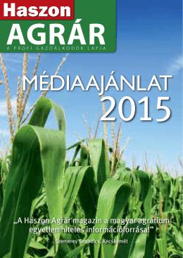 Médiaajánlat - Haszon magazin
